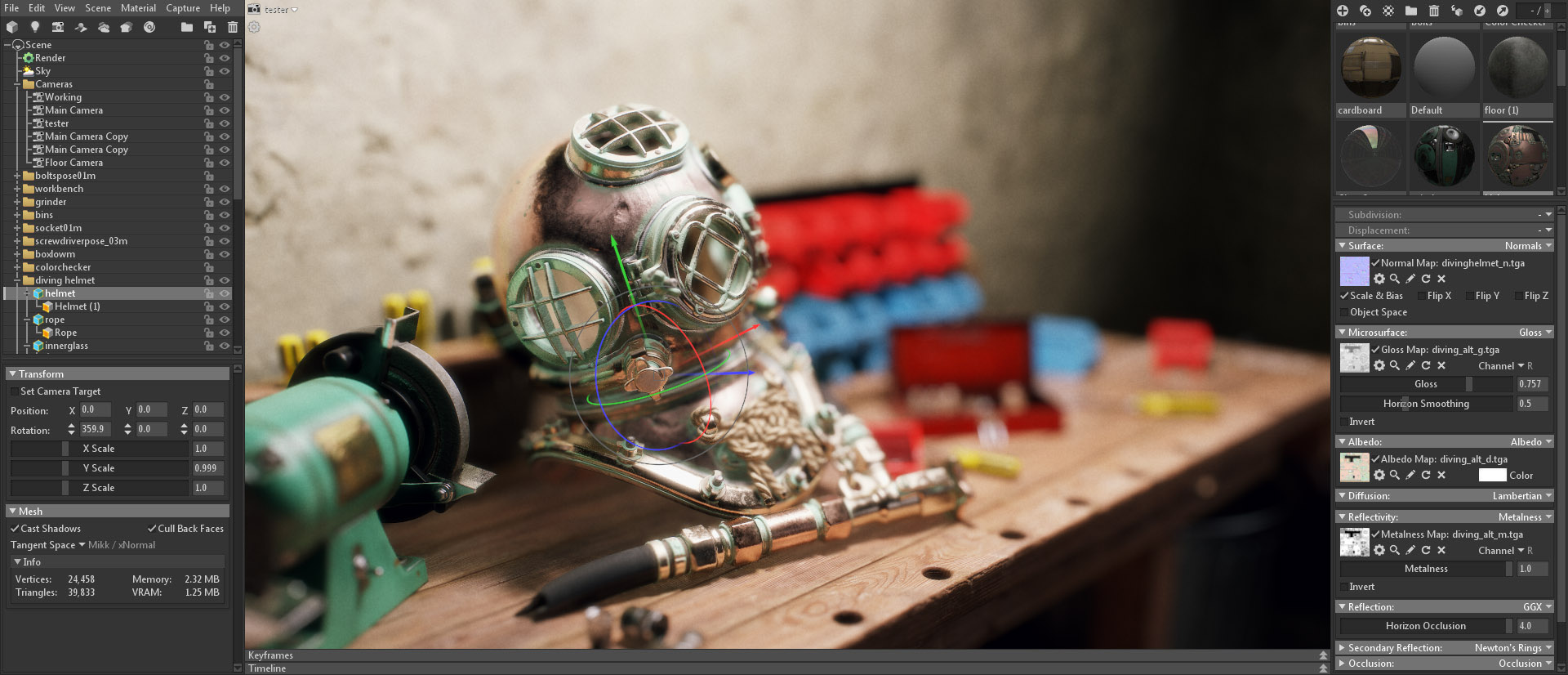 Marmoset Toolbag 3 - 3D Rendering, Lookdev, and Production Tools