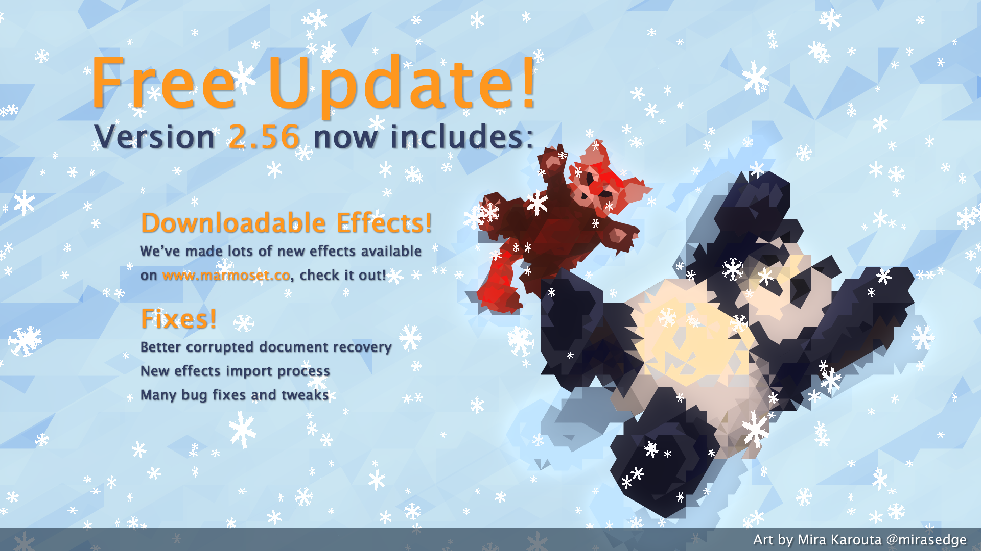 Hexels 2.56 Update – Effects Galore!