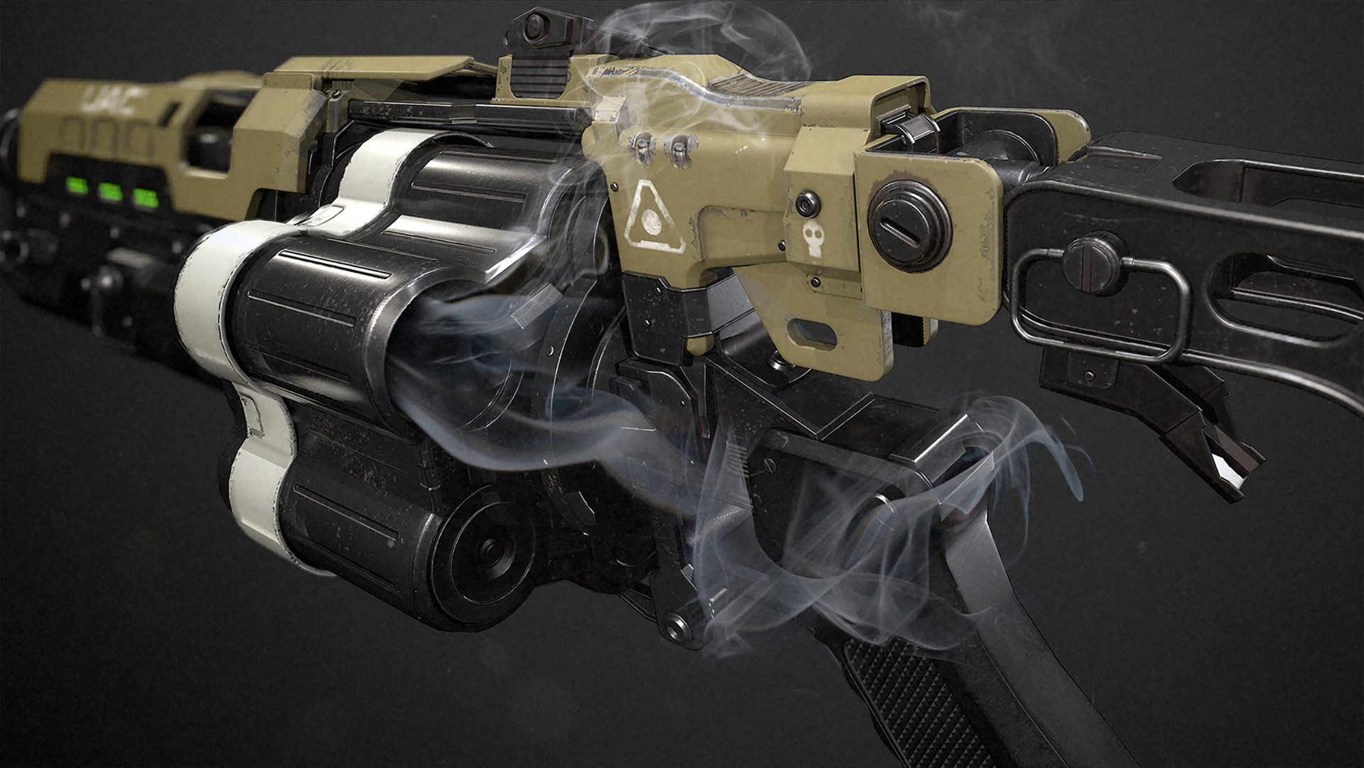 Designing Guns: Model, Texture and Light