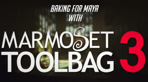 Baking for Maya with Marmoset Toolbag 3