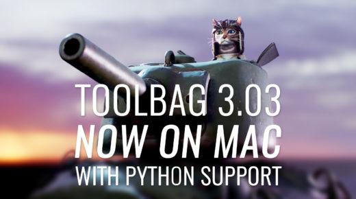 Free Update: Toolbag 3.03