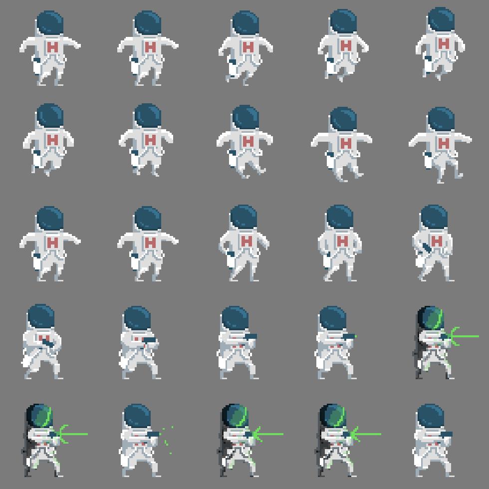 Various animals pixel art sprite sheet 2d Characters in 2019