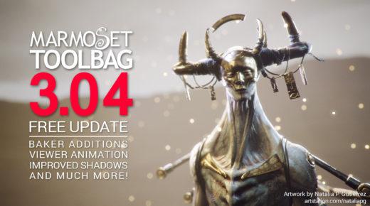 Free Update: Toolbag 3.04