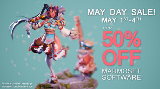 May Day Sale | All Marmoset Software On Sale!