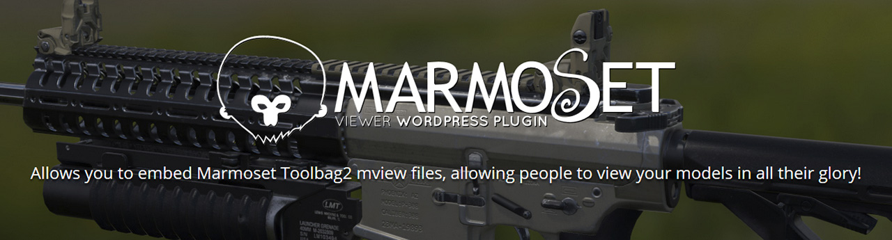 Marmoset Viewer WorldPress Plugin by Mark Bos